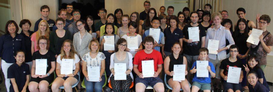 留学生徒と共に語学を学ぶキャンパス レクシス語学学院のサマースクール
